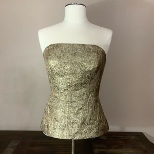 The limited gold corset size Small EUC